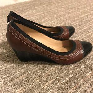 Black and Brown Antonio Melani Heels
